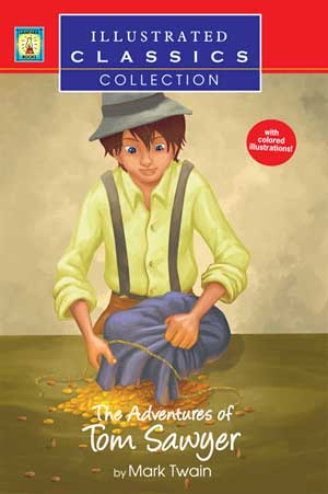 The Adventures of Tom Sawyer  (Illustrated)